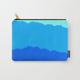 Minimal Mountain Range Outdoor Abstract Carry-All Pouch