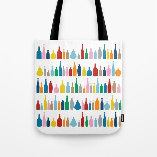 Bottles Multi Tote Bag