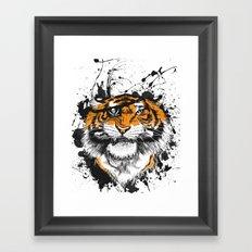 TigARRGH!! (Orange) Framed Art Print