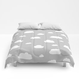 little clouds Comforters