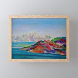 To Kelowna Framed Mini Art Print