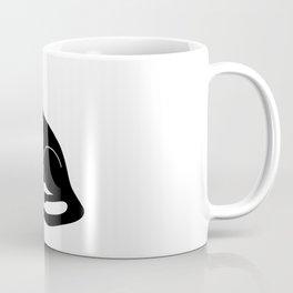 Weird Chonk Cat Black 002 Coffee Mug