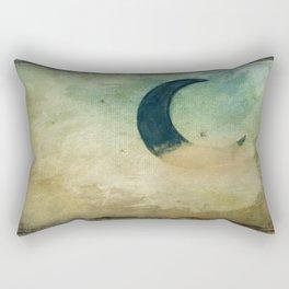 CLOUD and MOON Rectangular Pillow