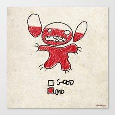 Stitch good&bad meter.... Canvas Print