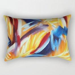 Synesthesia Schubert's waltz Caprice Rectangular Pillow