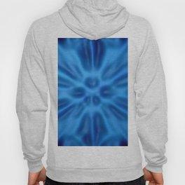 Blue plastification Hoody