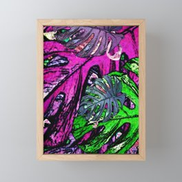 Flamingo Craze Framed Mini Art Print