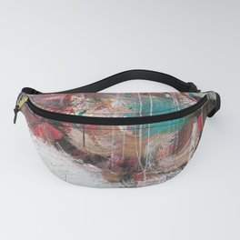 Casual Brush Strokes Abstract Fanny Pack