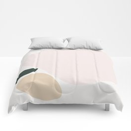 Abstract Shape Series - Apple Comforters