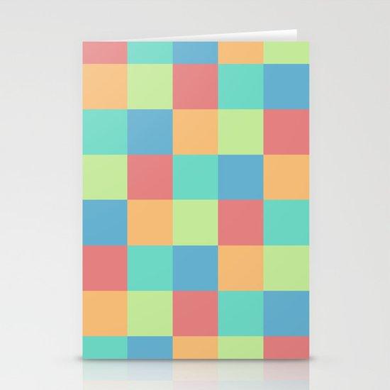 Pixels Stationery Cards