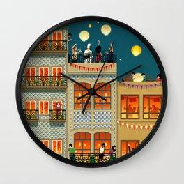 Porto Houses - Portugal Wall Clock