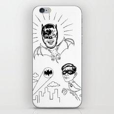 Holy Boastful Bat-man! iPhone & iPod Skin