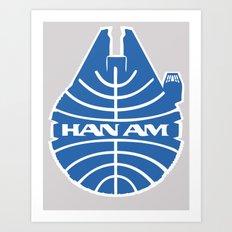 Han-Am Art Print