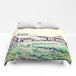 Dog River and Corner Gas Comforters