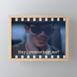 Remember Me? Framed Mini Art Print