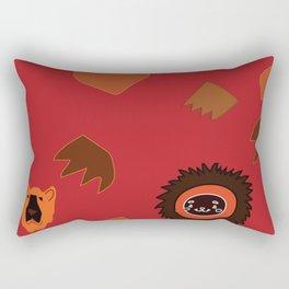 African Animals Rectangular Pillow