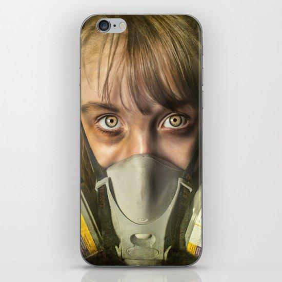 The day after ~ Survivor (treated version) iPhone & iPod Skin