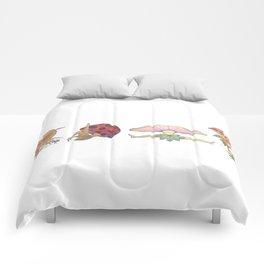 Fungi Faeries Comforters