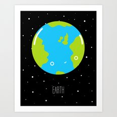 The Earth Art Print