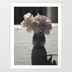 Little Jug of Flowers Art Print