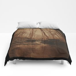 Slate Creek Waterfall Comforters