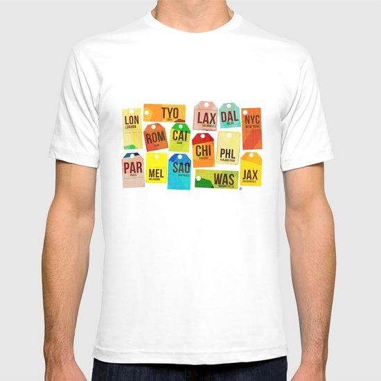 Travel Tags T-shirt