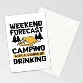 Camping Accessories Stationery Cards
