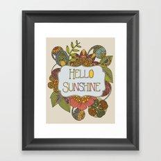 Hello Sunshine Framed Art Print