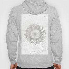 Geometrical Sunflower Hoody