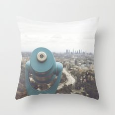 The View: Mulholland Throw Pillow