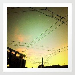 Skyway Art Print