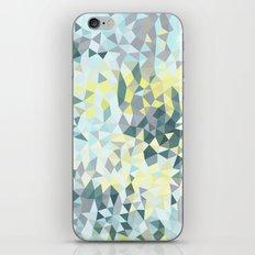 Spring Rain Tris iPhone & iPod Skin