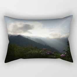 Flowers on the Mountainside  Rectangular Pillow