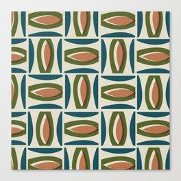 Alcedo - Orange Canvas Print