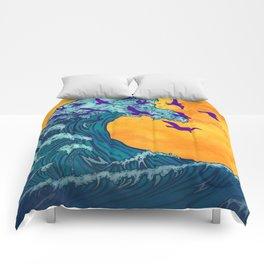 Wave of Change Comforters