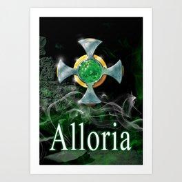 Amulet & Alloria Art Print