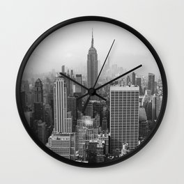 New York State of Mind II Wall Clock