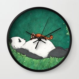My Neighbor Panda Wall Clock