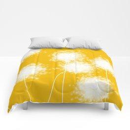 Indian Yellow Dandelion, Comforters