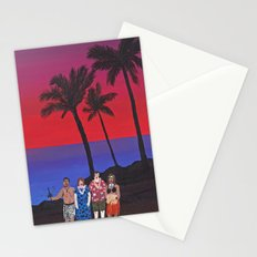 Sunset Tourists / Hawaii Stationery Cards