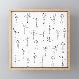 Dance ballerina dance Framed Mini Art Print