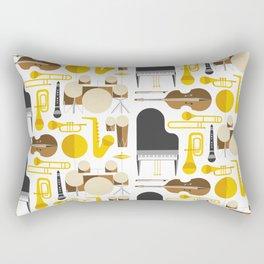 Jazz instruments Rectangular Pillow