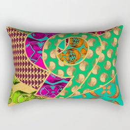 Tile 9 Rectangular Pillow
