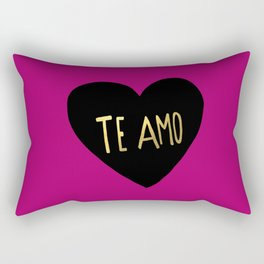 Te Amo II Rectangular Pillow
