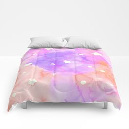 Starry Sky Raspberry Milkshake Comforters