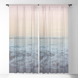 Crash into Me Sheer Curtain