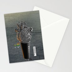 CRZN Dynamic Microphone Stationery Cards