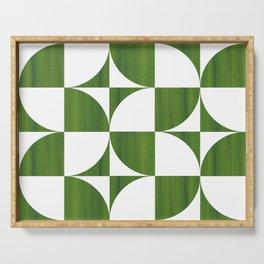 Quadrants (Matcha Green) Serving Tray