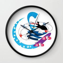 Skater Punk Wall Clock