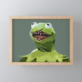 kermit to it Framed Mini Art Print
